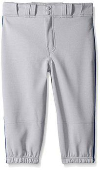 Easton Boys PRO Plus Piped Knicker, Grey/Navy, Medium