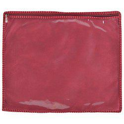 Arihant Collection PVC 5.08 cms Maroon Softsided Saree Packing Cover, Set of 12