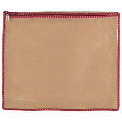 Arihant Collection PVC 5.08 cms Beige Softsided Saree Packing Cover, Set of 12