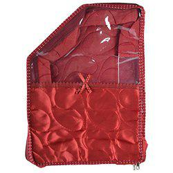 Arihant Collection Satin 11.43 cms Maroon Softsided Blouse Cover