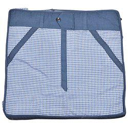 Arihant Collection Cotton 13.97 cms Blue Softsided Trouser Cover
