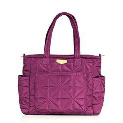 TWELVElittle Carry Love Tote Diaper Bag, Plum