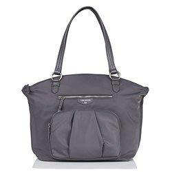 TWELVElittle Allure Dome Diaper Bag (Grey)