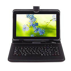 I KALL N5 (2+16GB) Dual Sim 4G Volt suported Calling (WIFI+Voice) Tablet with Keyboard, Black