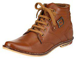 Factory London Men's Brown High Top Shoes - 6 UK