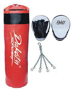 Fighter Red punching Bag combo1