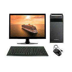 Core 2 Duo, G31 Motherboard, 4GB DDR2 RAM, 1TB SATA HDD, Without DVD Drive, 15.6 Monitor/ with Wifi - Nallu Assembled Desktop