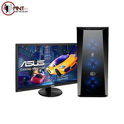 Ant PC Lasius C84 Gaming, Graphic Designing & Video Editing Desktop PC (Intel Core i5-8400/Nvidia GTX 1050 Ti 4GB/8 GB DDR4 RAM/1TB HDD/21.5 FHD Monitor/Gaming Keyboard & Mouse)