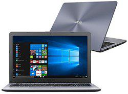 ASUS VivoBook R542UQ-DM275T (8th Gen Intel Core i7 8550U (1.80 GHz. with Turbo Boost Upto 4.0 GHz.) / 8GB DDR4 / 1TB HDD / 15.6 FULL HD (1920*1080) / NVIDIA GeForce 940MX with 2 GB DDR5 VRAM / With ODD / WIN 10 Licence / 2 Year Warranty / Grey)