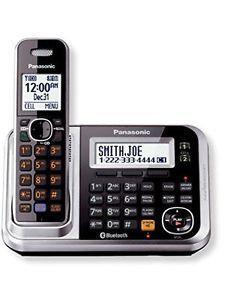 New Imported Panasonic KX-TG7841 Cordless Landline Phone Silver Color