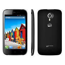 Micromax Canvs HD A116 4GB Black Pre-owned+3 Months Warranty Dent+Scratches