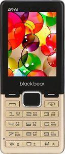 Blackbear D 102 Dual Sim  2.4 inch * Wireless FM * Camera * Mobile Phone * Gold