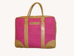 PNA 16 inch Laptop Messenger Bag(Pink)