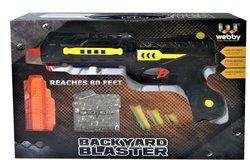 Saffire Laser Gun With Jelly Shots And Soft Foam Bullets(Multicolor)