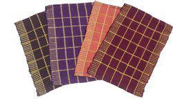 Home Fashion Cotton Door Mat Multicolor Cotton Door Mat - Set of 4(Multicolor, Medium)