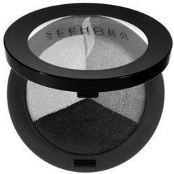 Sephora Microsmooth Baked shadow Trio In Black Light New! 3 g(Rio)