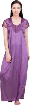 Lesuzaki Women's Nighty(Purple)