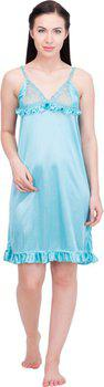 Lesuzaki Women's Nighty(Light Green)