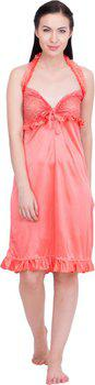 Lesuzaki Women's Nighty(Orange)