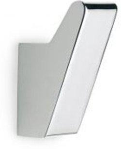 TATAY Glossy Shower Rod Hook(Silver)