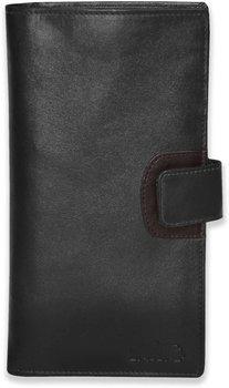 Arpera genuine leather passport holder for 2 passports Black C11568-1(Black)