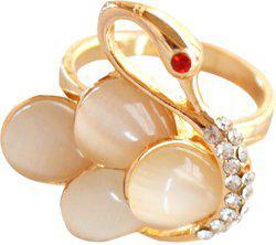 Aashya Mayro VALENTINE Brass Rose Gold Plated Ring