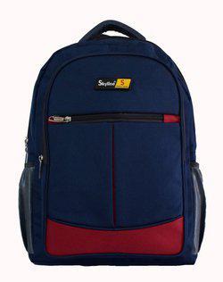 Skyline 15.6 inch Laptop Backpack(Blue, Red)