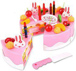 Saffire Musical DIY Birthday 37PC Cake Toy