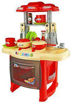 Saffire Kids Kitchen set children Kitchen Toys Large Kitchen Cooking Simulation Model Play Toy for Girl Baby