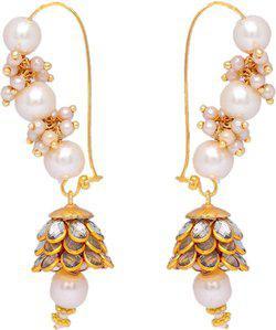 aabhu Dangle Earring Pearl Alloy Dangle Earring