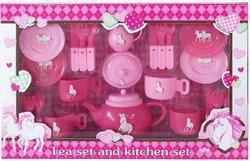 Saffire Tea Set and Kitchen Set