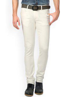 American Bull White Jeans