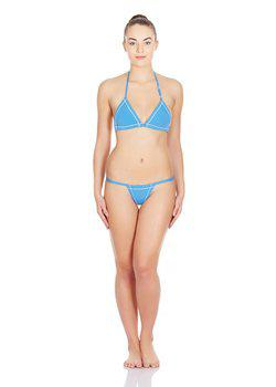 La Intimo - Real Feel G-String (Blue)