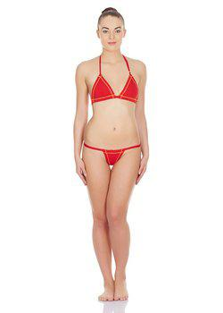 La Intimo - Real Feel G-String (Red)
