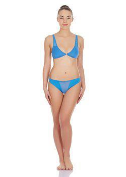 La Intimo - Transparent Window Panty (Blue)