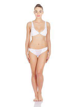 La Intimo - Transparent Window Panty (White)