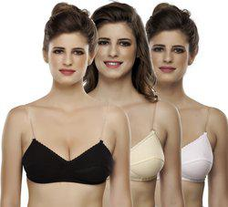 Yana Women's Full Coverage combo of T-shirt Bra