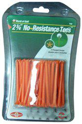 Golf Gifts and Gallery 40-Pack No Resistance Tees (2 3/4-Inch, Orange)