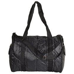 Arihant Collection PU 30.48 cms Black Softsided Folding Bag