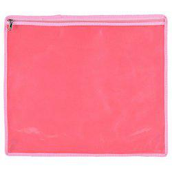 Arihant Collection PVC 5.08 cms Pink Softsided Saree Packing Cover, Set of 12
