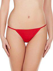 La Intimo Hollywood No Coverge Panty (Red)