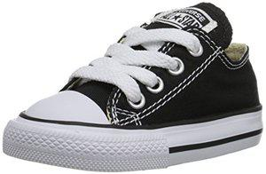 Converse Chuck Taylor All Star OX Toddler's Shoes Black 7j235 (6 M US)