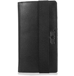 arpera Ricardo Leather card holder and passport case for business Black C11563-1