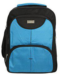 World Class Leather Matty 17.5 Ltrs Blue School Bag