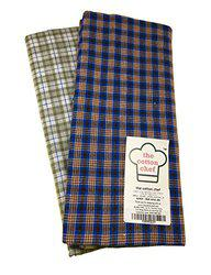 Cotton Lungi Assorted Color Checks 2.25 Mtr. Pack of 2