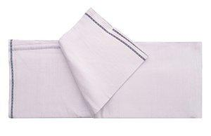 White Lungi/Sarong Pure Cotton (Pack of 1) by XYZ Textiles