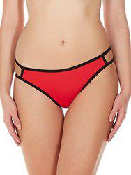 La Intimo Gusset Panty (Red)