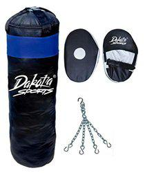 Fighter Black punching Bag combo1