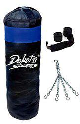 Fighter BLACK punching Bag combo2