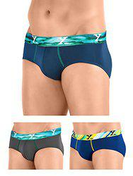 XYXX Men's Micro Modal Brief (Pack of 3)
